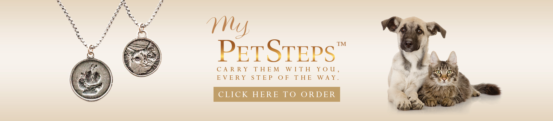 Click to Order My PetSteps™